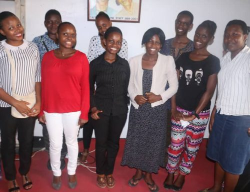 STUDENTS WITH STAFF MEMBERS